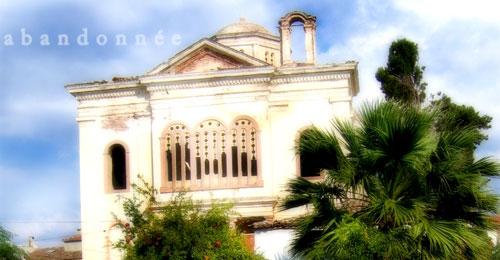 Ayvalık Cunda Adasında bulunan kilise