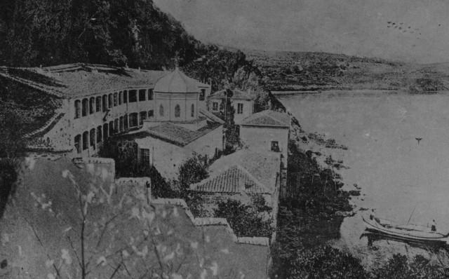 Ayvalık cunda adasındaki ayışı manastırı