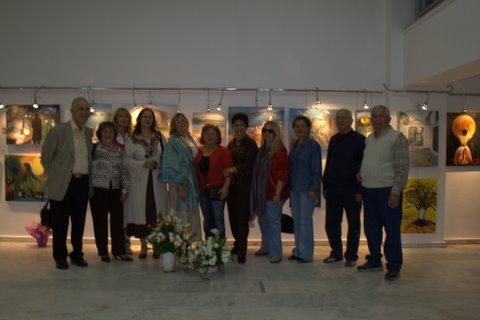 Gülseren KAYALI önderliğinde Ayvalık Kültür Sanat Derneği İzmir sergisi.