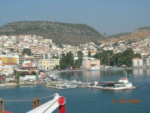 Midilli ada turu Yunanistan